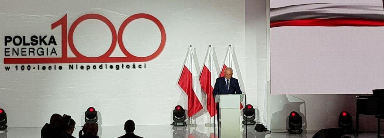 """Krzysztof Tchórzewski na uroczystości pt.: """"Polska Energia w 100-lecie Niepodległości"""". Fot. BiznesAlert.pl"""