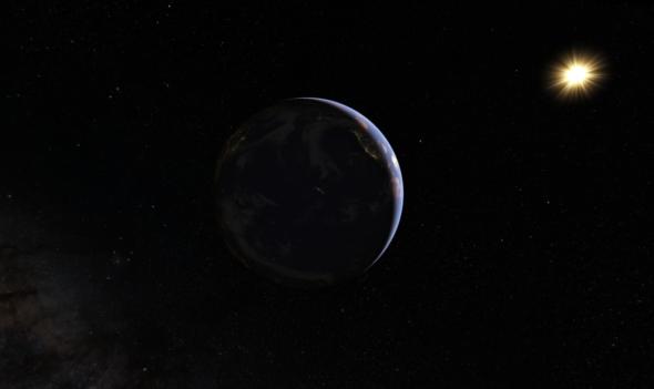 ziemia kosmos słońce