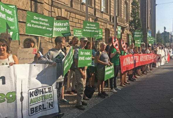 niemcy komisja węglowa protest