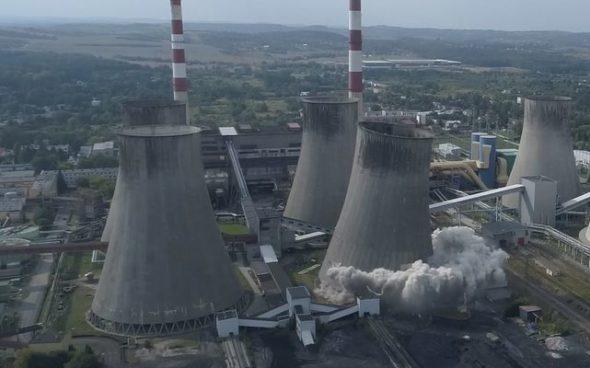 elektrownia łagisza wyburzanie