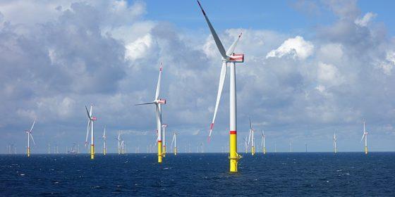 Morska farma wiatrowa Arkona. Fot. wikimedia.org