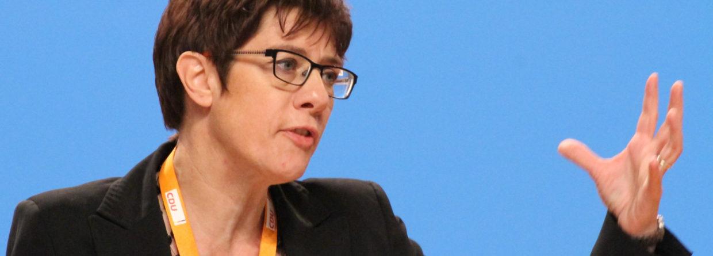 Annegret Kramp-Karrenbauer. Źródło: Wikicommons
