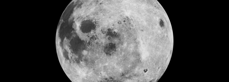 Księżyc. Źródło: Wikicommons