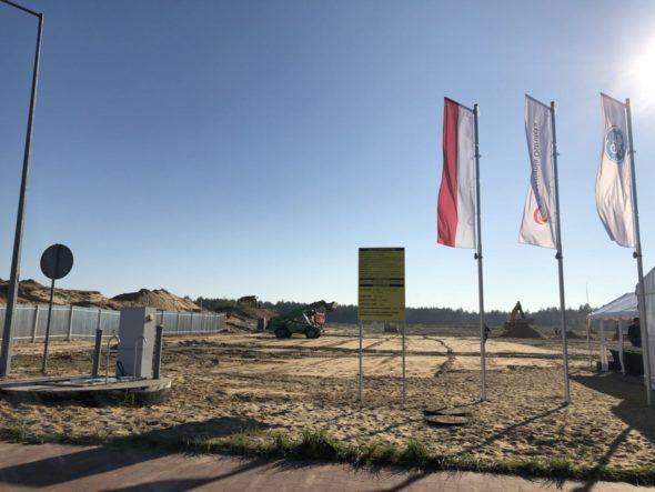 Plac budowy Elektrowni Ostrołęka. Fot. Bartłomiej Sawicki/BiznesAlert.pl