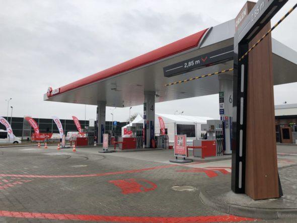 Innowacyjna stacja paliw Orlen Drive. Fot.: Bartłomiej Sawicki/PKN Orlen