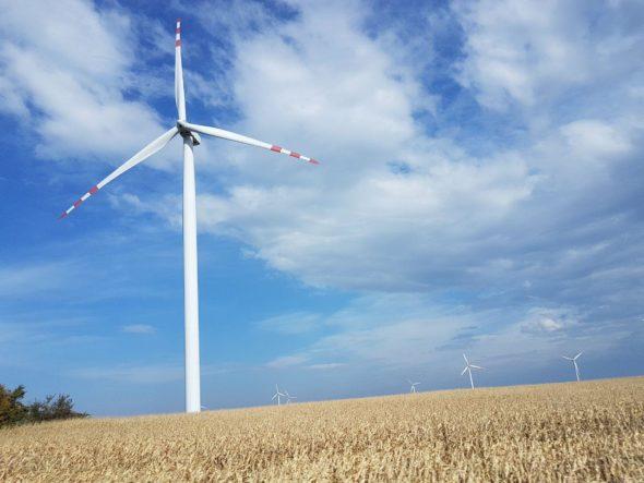 Farmy wiatrowe na Podkarpaciu. Fot. BiznesAlert.pl/Piotr Stępiński