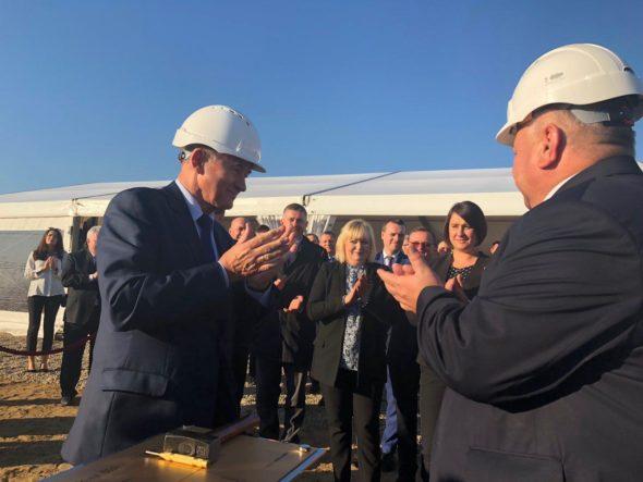 Minister Energii Krzysztof Tchórzewski oraz P.o. prezesa Energi Alicja Barbara Klimiuk. Fot. BiznesAlert.pl