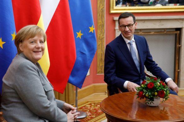 Angela Merkel Mateusz Morawiecki