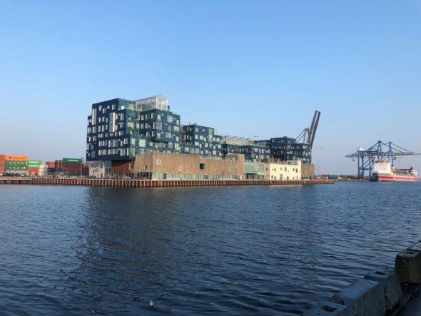 Port Nordhavn. Kopenhaga. Przykład adaptacji starej przestrzeni portowej na potrzeby zeroemisyjnego smart city. Fot. BiznesAlert.pl