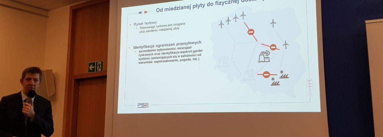 Prezentacja PSE na temat rynku węzłowego. Fot. BiznesAlert.pl