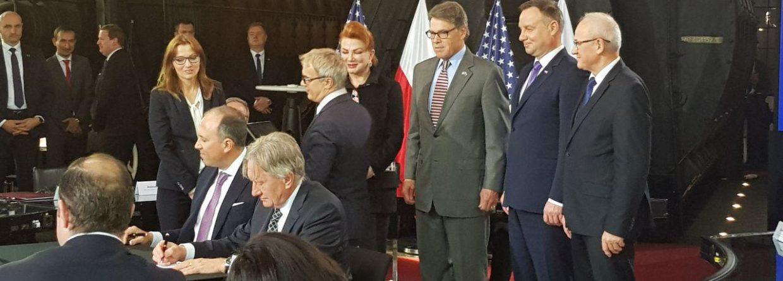 Podpisanie umowy PGNiG-Cheniere Energy. fot. BiznesAlert.pl