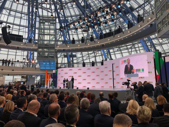 Andrzej Duda na Kongresie 590. Fot. BiznesAlert.pl
