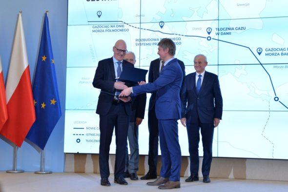 Ostateczne decyzje inwestycyjne o powstaniu projektu Baltic Pipe podjęte. Fot. Baltic Pipe