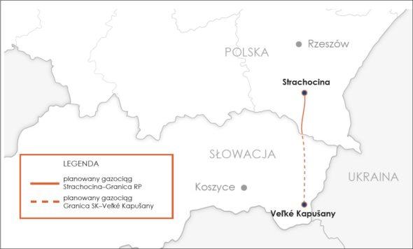 Gazociąg Polska – Słowacja. Fot. Gaz – System