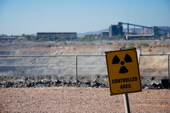 Kopalnia uranu. Źródło: Wikicommons