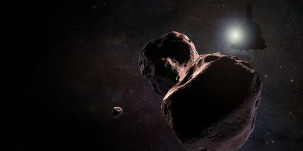 New horizons nasa planetoida kosmos