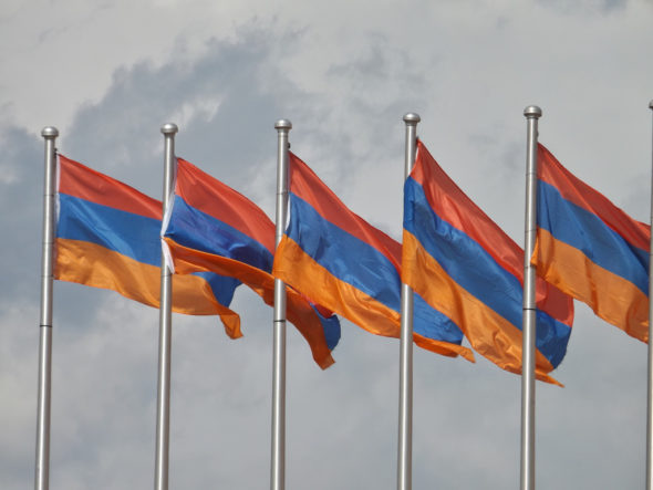 Armenia flaga