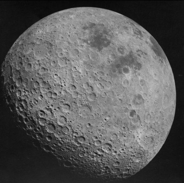 Ciemna strona Księżyca. Źródło: Wikicommons