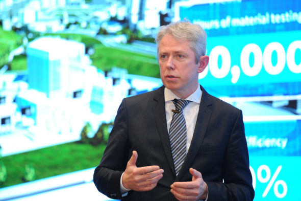 Michael Keroullé, Chief Commercial Officer z GE Power