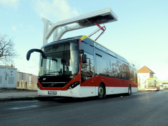 inowrocław autobus elektryczny oppcharge