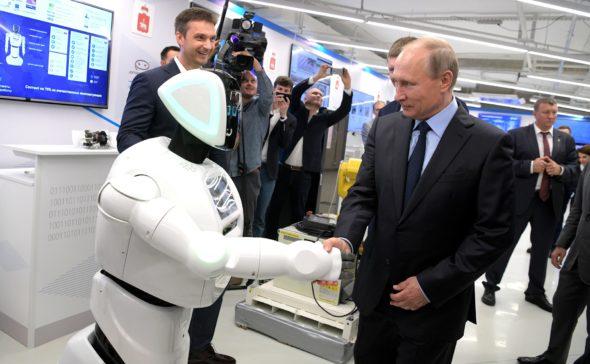 Władimir Putin promobot