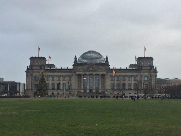 Niemcy Bundestag Berlin