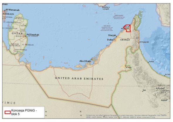 zjednoczone emiraty arabskie gaz ropa