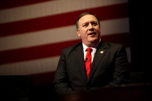 Sekretarz stanu USA Mike Pompeo. Źródło: Flickr