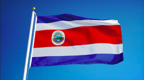 Kostaryka Flaga Kostaryki. Źródło: Shutterstock
