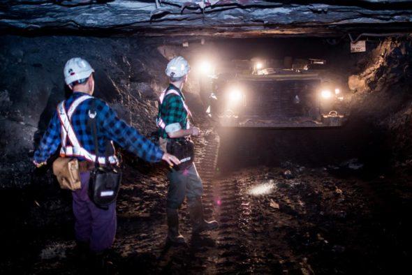 górnictwo kopalnia KGHM