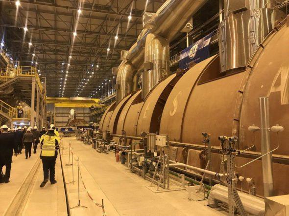 turbina elektrownia opole