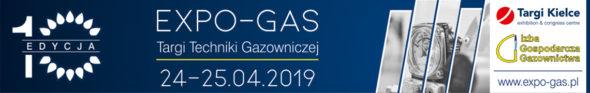 Xedycja TargówTechniki Gazowniczej EXPO-GAS wKielcach patronat biznesalert.pl