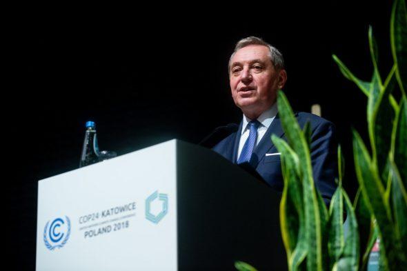 Minister Środowiska Henryk Kowalczyk. Fot. Ministerstwo Środowiska