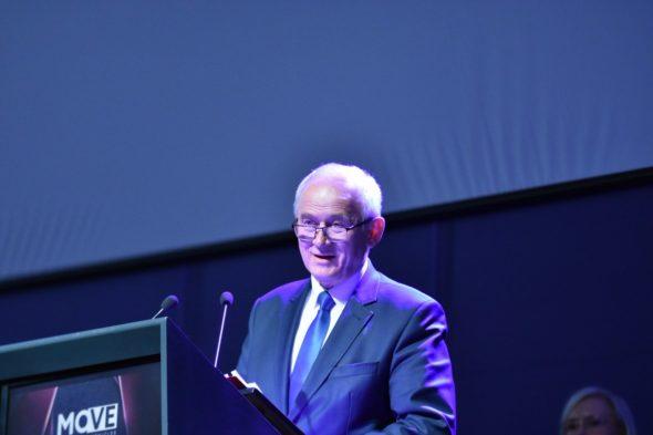 Minister Energii Krzysztof Tchórzewski na Kongresie MOVE.  Fot. Ministerstwo Energii