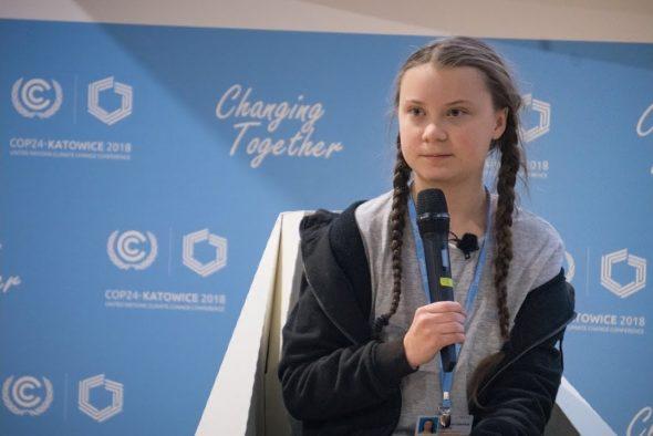 Greta Thunberg na COP24
