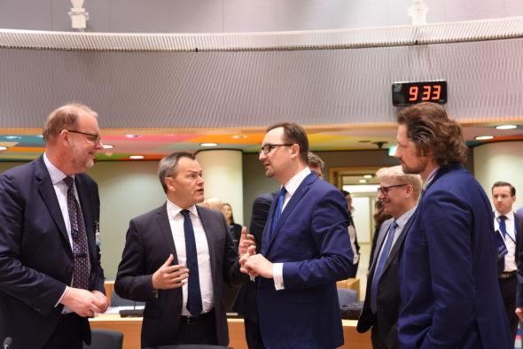 Posiedzenie Rady UE ds. Środowiska. Źródło: Ministerstwo Środowiska