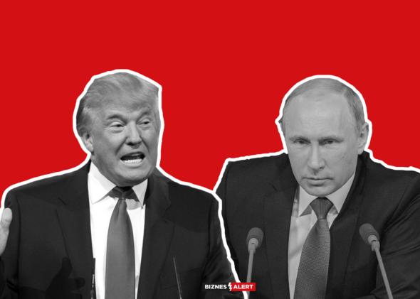 Putin Donald trump USA Rosja GrafikaBA