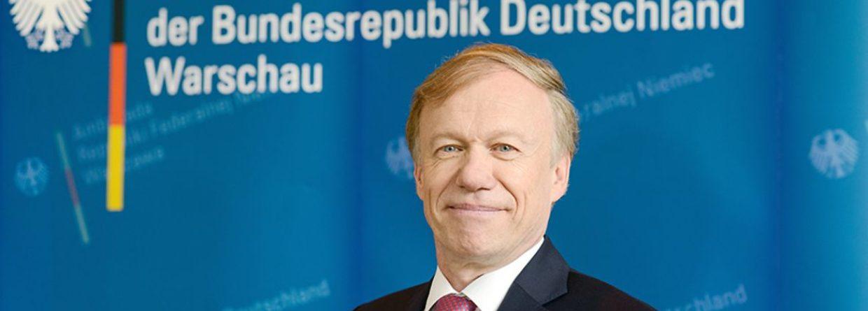 Ambasador Rolf Nikel. Fot. Ambasada Niemiec w Polsce