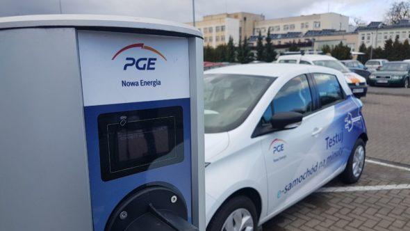 PGE nowa energia EV elektromobilność