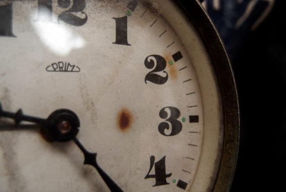 zegar zmiana czasu