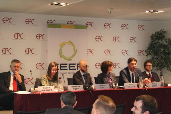 Panel o transformacji energetycznej. Źródło: CEEP