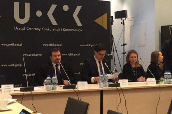 Konferencja prasowa UOKiK. Fot. BiznesAlert.pl