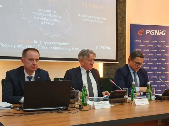 Konferencja prasowa PGNiG. Fot. BiznesAlert.pl