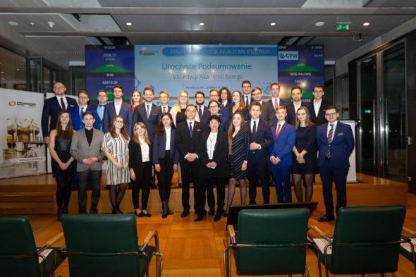 Uczestnicy Akademii Energii pod patronatem BiznesAlert.pl