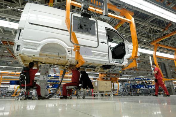 Fabryka Volkswagena. Źródło: Flickr