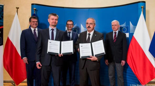 Baltic Pipe otrzyma dofinansowanie z Unii Europejskiej. Fot. KPRM:Twitter
