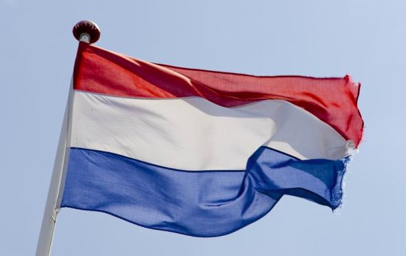 Holandia Flaga Holandii. Źródło: max pixel