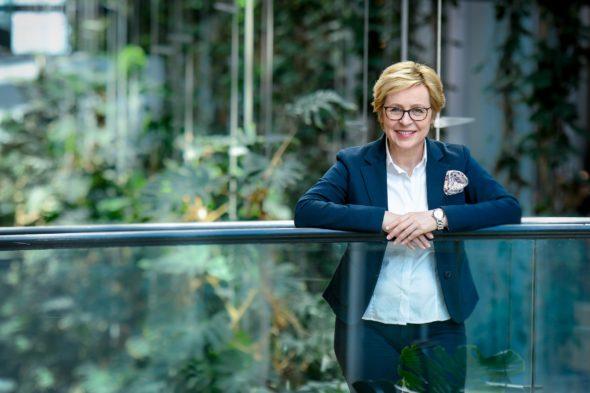 Jadwiga WISNIEWSKA in the EP in Strasbourg