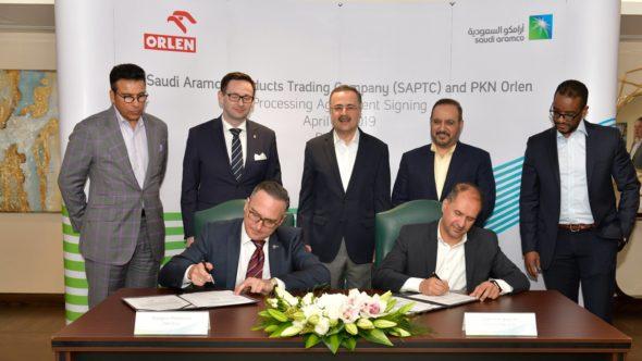 Podpisanie nowej umowy PKN Orlen-Saudi Aramco. Fot. Saudi Aramco