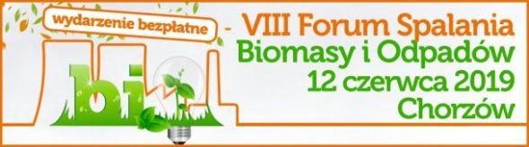 VIII Forum Spalania Biomasy i Odpadów pod patronatem BiznesAlert.pl